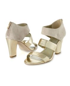 Metallic is the new neutral - pair these pretties with a summer dress or a pair of designer denim.