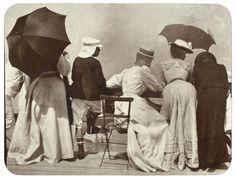 adanvc:Etretat, 1907. by Jacques-Henri Lartigue