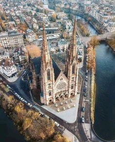 Strasbourg, Alsace, France.