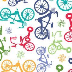 Angela Rekucki - Bikes n Trikes - Bikes n Trikes in Multi; Manufacturer: Anthology Fabrics, arriving mid March