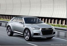 Audi Crosslane Concept SUV Coupe Raveled In Paris