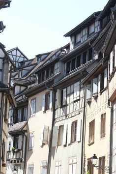 Colmar Alsace France Elzas buildings
