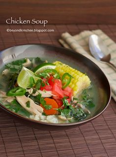Chicken Soup for the soul and body.  This recipe adds a new twist (collard greens) to the mix.  Can't wait to try it!
