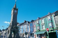 Welcome to Machynlleth in MId Wales Cymru, My Heritage, Where The Heart Is, Big Ben, Wales, Britain, Scotland, To Go, England