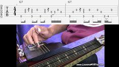 Rollin' and Tumblin' - Open G - Lap Steel or Dobro Guitar Youtube, Guitar Tutorial, Sheet Music, Steel, Tablature, Music Sheets, Steel Grades, Iron