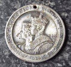 King George VI 1937 Coronation Medal / Medallion - Westminster Abbey Westminster Abbey, King George, Badges, Ebay, Badge