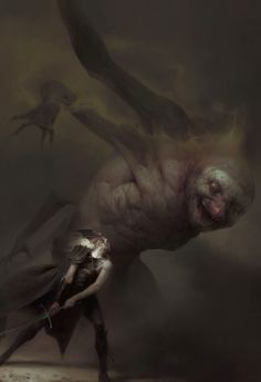 The Dark Fantasy Art of Piotr Jabłoński Dark Fantasy Art, Fantasy Artwork, Dark Art, Fantasy Life, High Fantasy, Fantasy Rpg, Medieval Fantasy, Rpg Horror, Horror Art