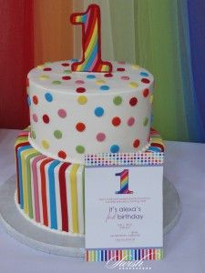 Rainbow First Birthday Party {Customer Party}