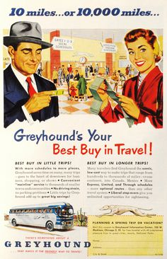 10 or 10,000 Miles... The way travel used to be in the USA.