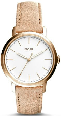 Fossil Neely 3-Hand Leather Watch ES4185