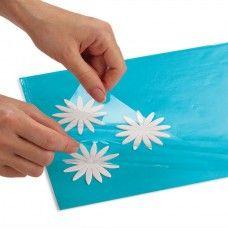 PELLICOLA CONSERVAFIORI  composta da due fogli in plastica che permettono di mantenere intatta la consistenza di fiori e piccoli tagli di pasta $9,00€