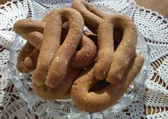 Kai, Greek Cookies, Sweet Desserts, Biscotti, Sausage, Food And Drink, Sweets, Vegan, Health