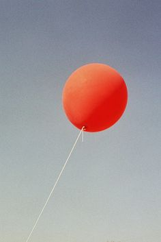 red ballon by ikebana on flickr