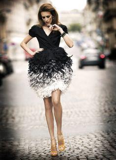 Nieves Álvarez in Christian Dior Haute CoutureFW 2010