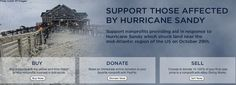 Shop for a cause! By going shopping you will be helping the relief efforts of Hurricane Sandy! See where to shop here http://renegadechicks.com/shopping-for-a-good-cause-hurricane-sandy-relief-efforts/