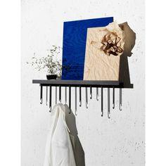 Design House Stockholm Atelier wand kapstok | FLINDERS verzendt gratis Cold Rolled, Wall Hanger, Hangers, Stockholm, House Design, Flooring, Minimal, Furniture, Space