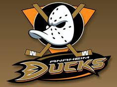 Anaheim Ducks logo. As featured in our 'Best & Worst Sports Logos' article