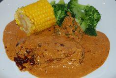 sambalkyc21 Chicken Curry, Cheddar, Slow Cooker, Mango, Creme Fraiche, Pot Pie, Lchf, Steak, Cooking Recipes