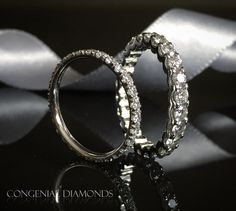 What's more beautiful than a line of diamonds?