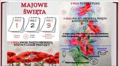 Discover more about Majowe święta ✌️ - Review Infographic, Education, Historia, Infographics, Onderwijs, Learning, Visual Schedules