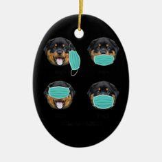Funny Teacher Life, Rottweiler Dog Wearing Mask Ceramic Ornament rottweiler american, funny rottweiler memes, rottweiler tattoo #rottweilers #rottweilersofficial #rottweilertales, dried orange slices, yule decorations, scandinavian christmas Dog Lover Gifts, Gift For Lover, Dog Lovers, Rottweiler Funny, Rottweilers, Yule Decorations, Teacher Humor, Orange Slices, Scandinavian Christmas