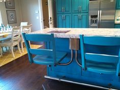 attached bar stools