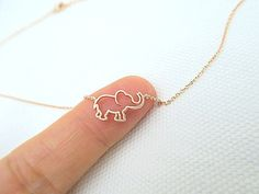 Rose Gold Tiny Elephant Necklace Baby Animal Necklace Minimalist Jewelry, Birthday Gift, Everyday Wear - Best Picture For jewelry packaging For Your Taste You are looking for something, and it is going - Jewelry Tags, Cute Jewelry, Silver Jewelry, Jewelry Gifts, Teen Jewelry, Baby Jewelry, Silver Pendants, Gothic Jewelry, Jewelry Findings