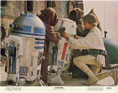 Imágenes promocionales. Star Wars 1977