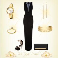 Noche de gala en oro