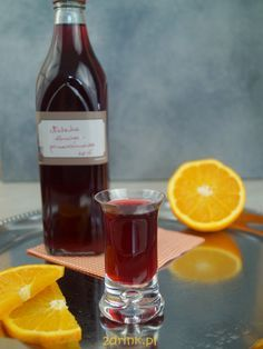 nalewka wisniowa z pomarancza Irish Cream, Preserves, Alcoholic Drinks, Smoothie, Homemade, Wine, Bottle, Cooking, Liqueurs