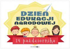 Dzień Edukacji Narodowej - napis - Printoteka.pl