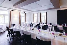 www.ruetihof.com Restaurant, Conference Room, Table, Furniture, Home Decor, Group Tours, Decoration Home, Room Decor, Diner Restaurant