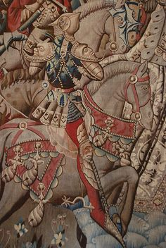 Knight, Reims Tapestry, France