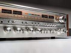 Golden Age Of Audio: Pioneer SX 1080 Stereo Receiver 1979