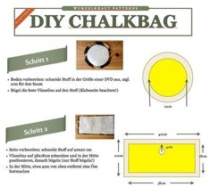 DIY Dog Treat Bag / Chalk Bag made this a treat for training courses. I … - Diy Sewing Projects Easy Wood Projects, Diy Sewing Projects, Easy Woodworking Projects, Sewing Diy, Indoor Climbing, Rock Climbing, Bag Patterns To Sew, Sewing Patterns, Climbing Chalk Bag