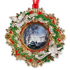 2013 White House Christmas Ornament, The American Elm Tree - Christmas | The White House Historical Association