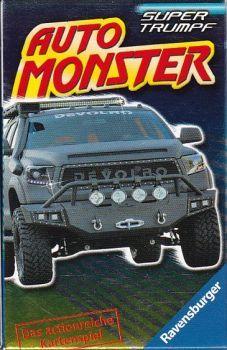 RZOnlinehandel - Auto Monster - Super Trumpf Quartett Super, Monster Trucks, Vehicles, Car, Autos, Automobile, Cars, Vehicle, Tools