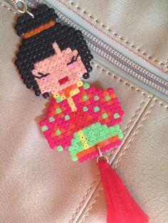 Tasche Charm Kodeshi Mini Hama Perlen und Schmuck tassel