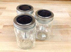 Check out Dollar Store Crafts | How to Make Mason Jar Solar Lights at http://diyready.com/dollar-store-crafts-make-mason-jar-solar-lights/
