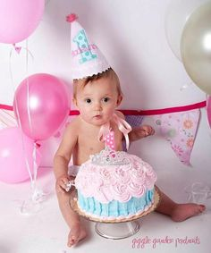 Girl Birthday Party Hat  Pink and white stripes by DaintyCouture, $25.00