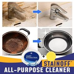 Stain OFF™ All-Purpose Cleaner – Sunsdale Household Cleaning Tips, House Cleaning Tips, Cleaning Hacks, Cleaning Products, Cleaning Stove, Iron Cleaning, Cleaning Items, Household Products, Cleaning Supplies