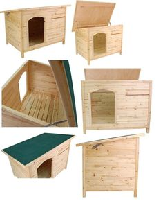 메리앤해피 :: Wooden Pet House Kennel For Dog/Cat Indoor/Outdoor