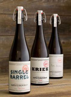 Santa Fe Brewing #packaging #design #branding