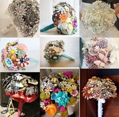 bouquets broches