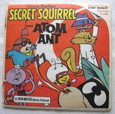 View-Master Reels Secret Squirrel And Atom by BitchinKitschKitchen