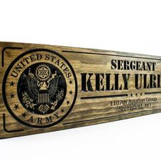 Military Sign-US Army-Navy Sign-Custom sign-Personalized Wood | Etsy Army & Navy, Us Army, Military Signs, Wood Sealer, Veterans Day Gifts, Deployment Gifts, Dog Leash Holder, Personalized Wood Signs, Custom Wood