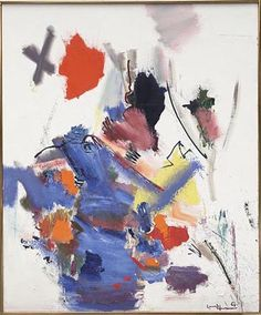 Struwel Peter by Hans Hofmann, 1965 Oil on Canvas #hanshofmann #abstract #abstractexpressionism