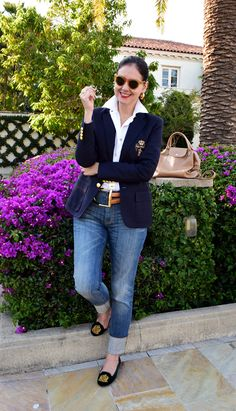 fashion over 50 spring casual outfits Older Women Fashion, Plus Size Fashion For Women, Fashion Tips For Women, Fashion Over 40, 50 Fashion, Fashion Outfits, Fashion Trends, Preppy Look, Preppy Style