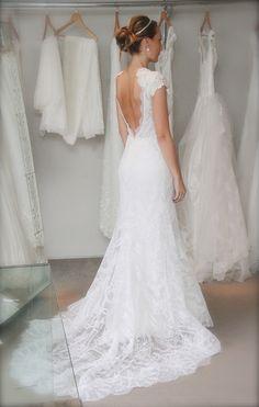 How gorgeous is this dress... Renata by Danielle Benicio.
