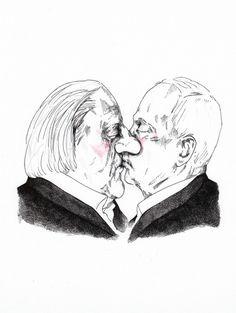 Bruderkuss / Brotherly Kiss